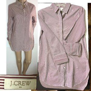 J.Crew Striped Shirt Dress/ Tunic